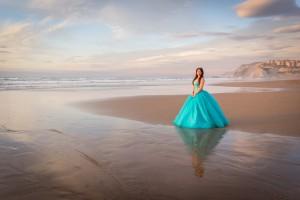 Sesión a Liz en la Playa